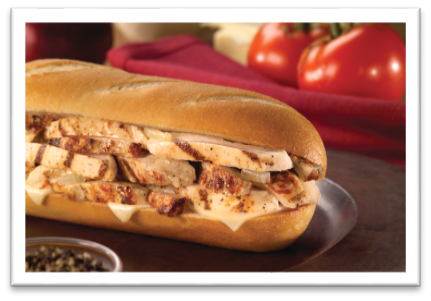 The Chicken Cheesesteak Grilled Breast Strips Grilled Onion And White American Cheese